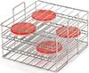3166183 Petri Dish Rack, Stainless Steel