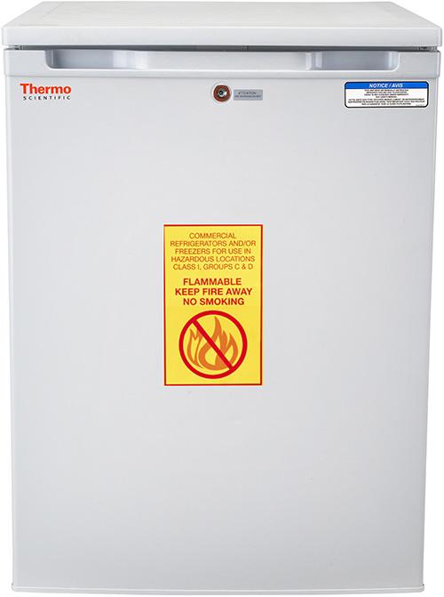 05EREETSA: Explosion-Proof Refrigerator, 5.5 cu ft