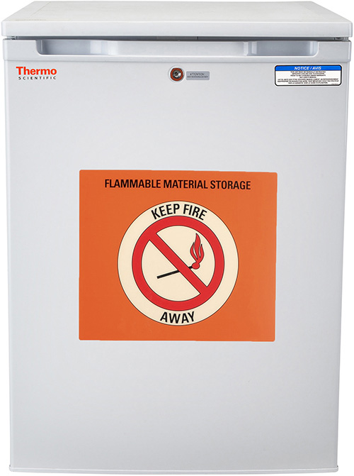 05FREETSA: Flammable Materials Storage Refrigerator, 5.5 cu ft