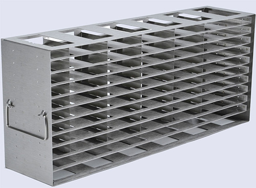 1950522: Freezer Rack - Side Access - Holds 77 Microplates