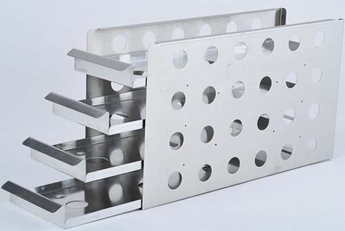 1950637: Freezer Rack - Sliding Drawer - Holds 16 Microplates