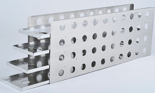 1950638: Freezer Rack - Sliding Drawer - Holds 24 Microplates
