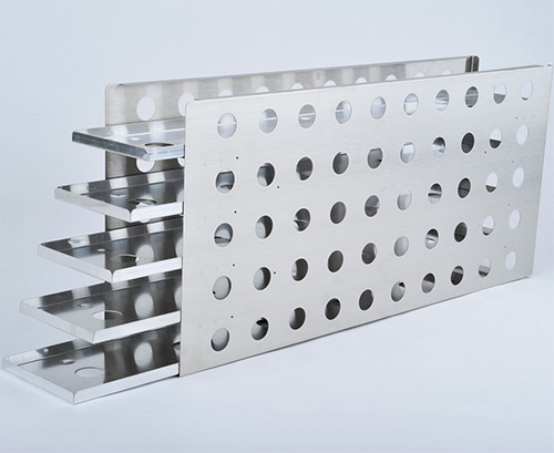 1950642: Freezer Rack - Sliding Drawer - Holds 35 Microplates