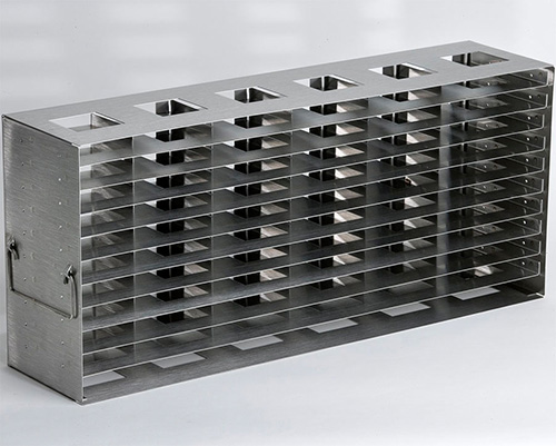 1950652: Freezer Rack - Side Access - Holds 84 Microplates