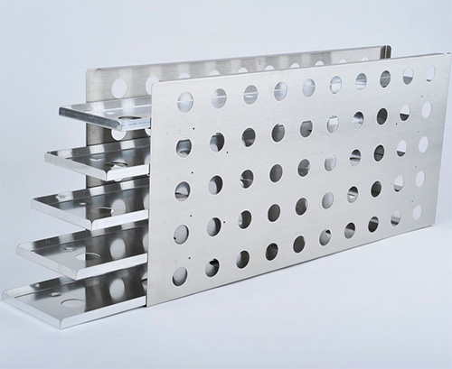 1950731: Freezer Rack - Sliding Drawer - Holds 35 Microplates