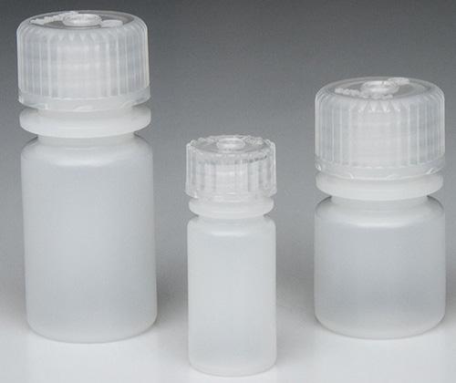 312002-9025: Nalgene Bottle, Small, Narrow Mouth, Boston Round - HDPE 1/4 oz / 8 mL (20-415) (Case of 2000)