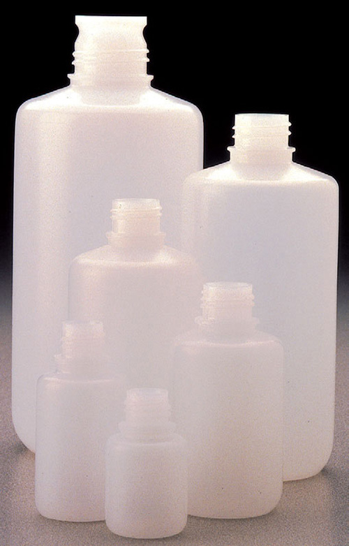 362089-0002: Nalgene Packaging Bottle, Narrow Mouth - HDPE WITHOUT Closure 2 oz / 60 mL (20-415) (Case of 1000)