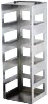 398185: Freezer Rack - Includes Handle - Holds 5 Boxes (3-inch)