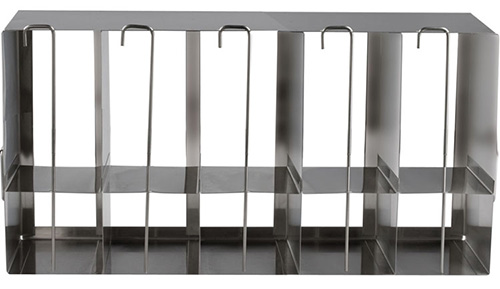 398321: Freezer Rack - Side Access with Locking Rod - Holds 70 Standard and 25 Deepwell Microplates
