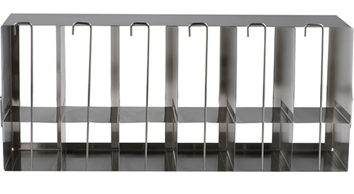 398323: Freezer Rack - Side Access with Locking Rod - Holds 84 Standard and 30 Deepwell Microplates