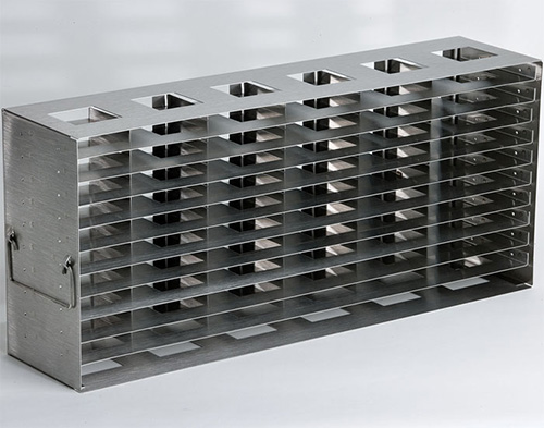 398333: Freezer Rack - Side Access - Holds 66 Microplates