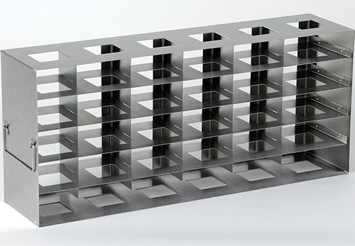 398335: Freezer Rack - Side Access - Holds 30 Deepwell Microplates