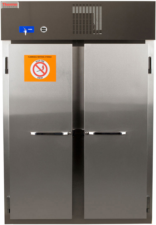 50FREETSA: Flammable Materials Storage Refrigerator, 50 cu ft
