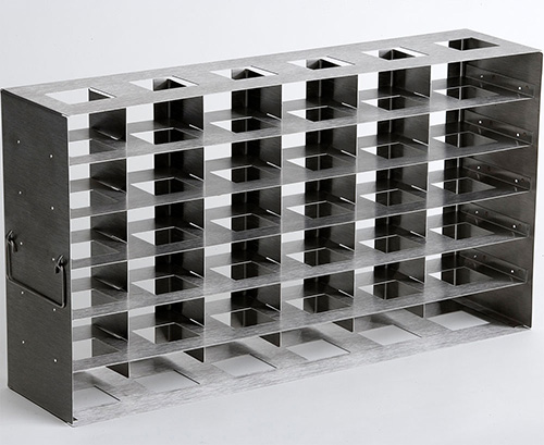 820036: Freezer Rack - Side Access - Holds 36 Deepwell Microplates