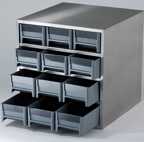 830012: Multi-Drawer Freezer Rack with 12 Drawers