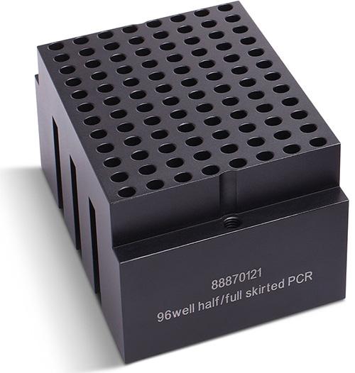 88870121: Block Heater - 96*0.2 mL Half- or Full-Skirted PCR Plate