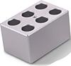 88871103 Block Heater - 6 x 1.5 mL Tubes (1/4 Block)