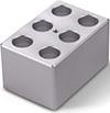 88871104 Block Heater - 6 x 2.0 mL Tubes (1/4 Block)