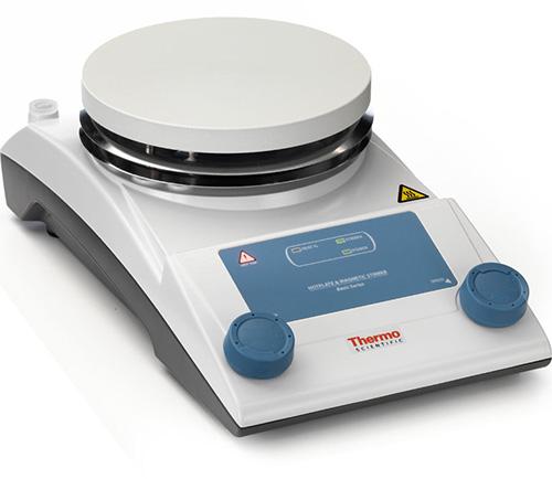 88880004: RT2 Ceramic Basic Hotplate Stirrer - 5.5-inch Diameter