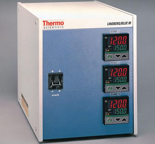 CC584343PBC-1: Lindberg/Blue M 3-Zone Controller 1200C Furnace - Programmable + OTC