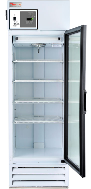 MR12PA-GAEE-TS: GP Lab Refrigerator, 12 cu ft, Glass Door