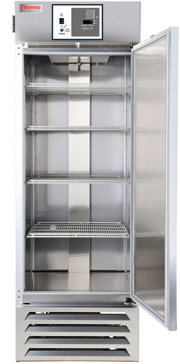MR30SS-SARE-TS: GP Lab Refrigerator, 27 cu ft + Chart Recorder (Stainless Steel Int)