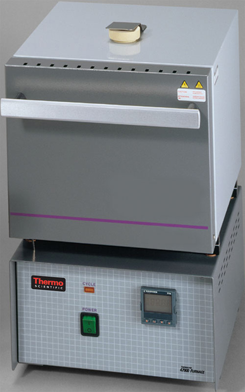 F47955: Thermolyne 2L D1 Benchtop Muffle Furnace